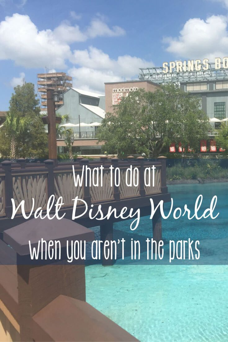 At Walt Disney World without a park ticket, or with an extra day to spend outside the parks? There is so much to do, you certainly won't be bored. We've got just a handful of suggestions to get you started, including Walt Disney World live entertainment,
