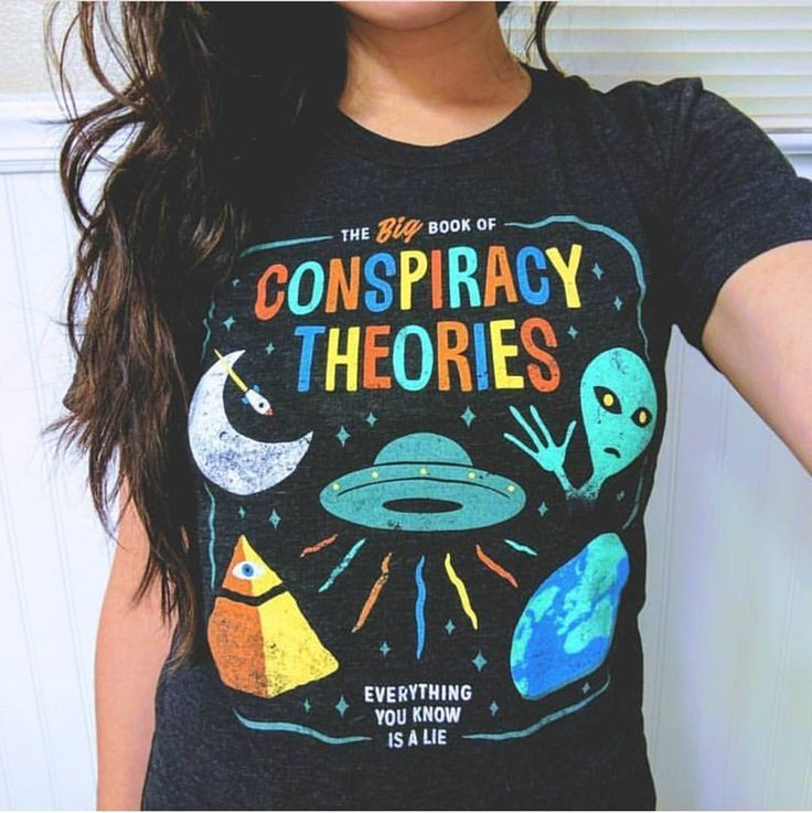 "3,555 Likes, 97 Comments - Wicked Clothes (@wickedclothes) on Instagram: ""@l3ritney wearing our 'Conspiracy Theories' Shirt #regram"""