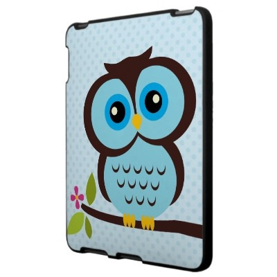 Blue Owl Ipad Covers by heartlocked