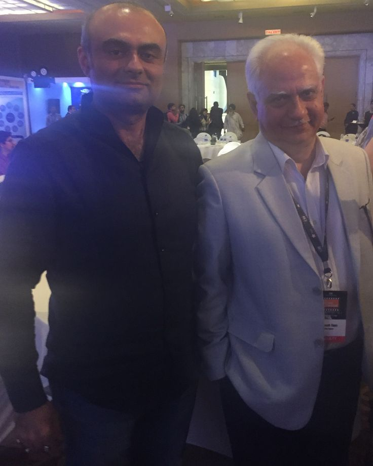With Ramesh Sippy at the CII Big Picture Summit