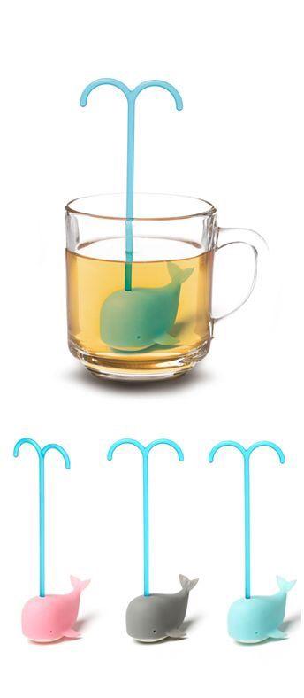 Whale tea infuser