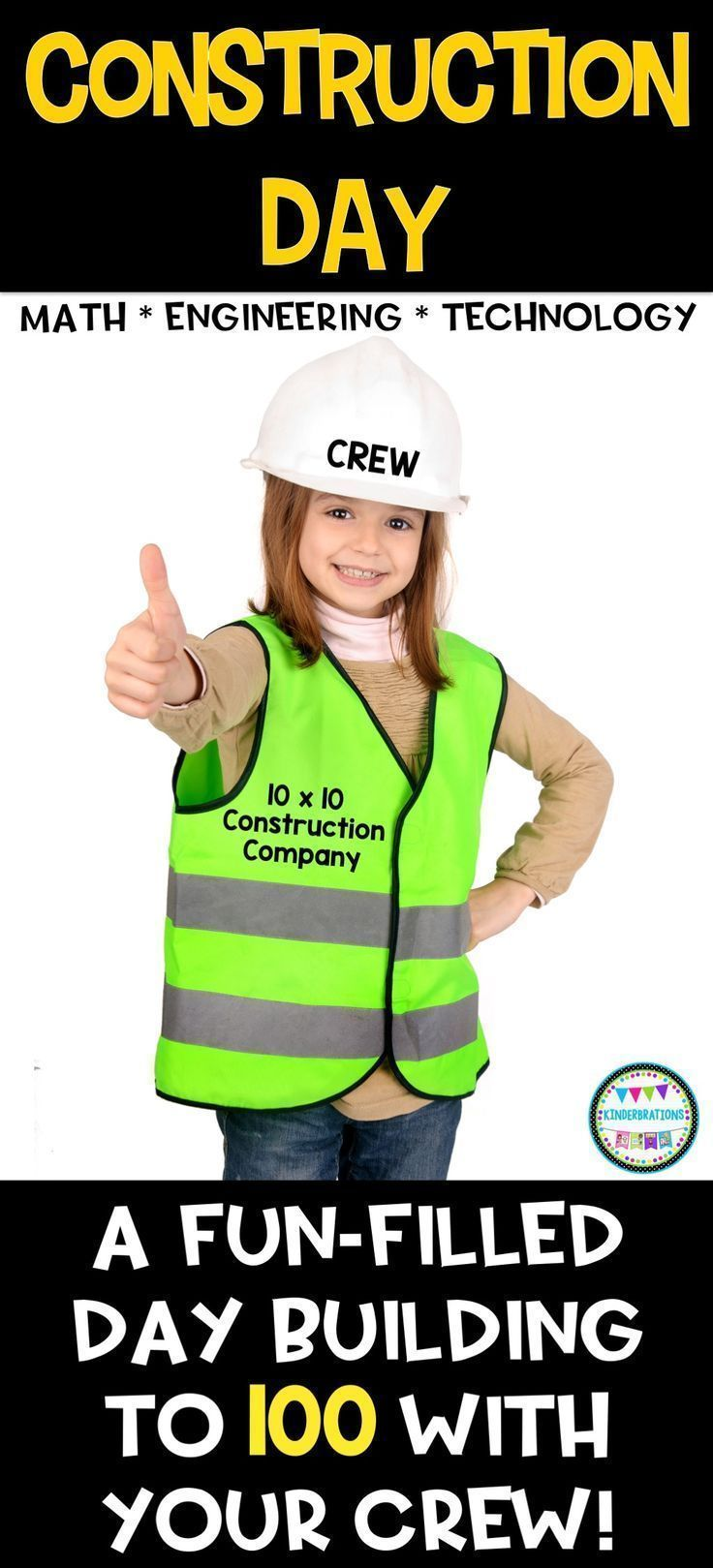 "Welcome to the 10x10 Construction Company!  Your crew will love these exciting math, engineering, and technology ""jobs"" (centers) that focus on numbers to 100.  Lots of common core-based activities, printables, and ideas to engage your students!"