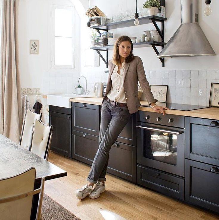 pin von pilar reboredo auf cuisine pinterest neue wohnung k che und einrichten und wohnen. Black Bedroom Furniture Sets. Home Design Ideas