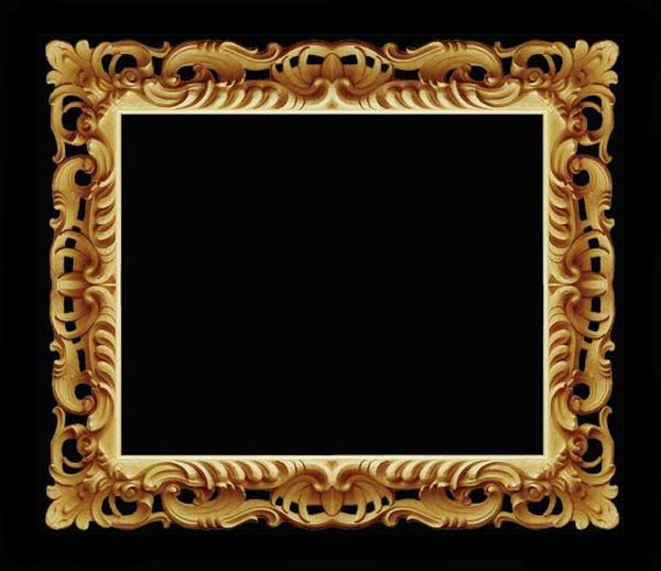 mirror frame. Old style. Florence frame reproduction