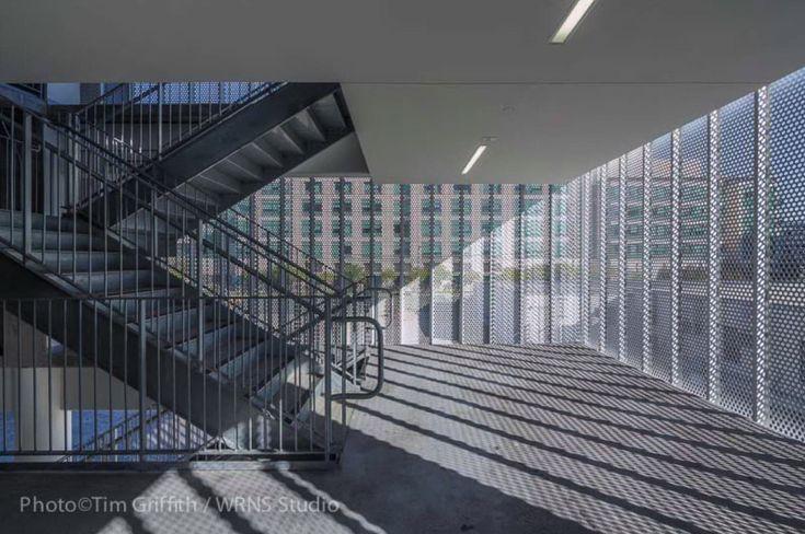*알루미늄 버티컬 루버 주차 타워 [ WRNS Studio ] UCSF Mission Bay Medical Center Parking Structure :: 5osA: [오사]