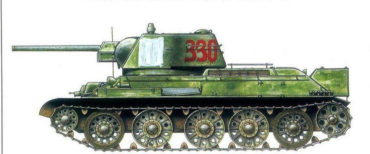 Т-34/76.№-330.109-я танковая бригада.16-й танковый корпус. Украина 1944.