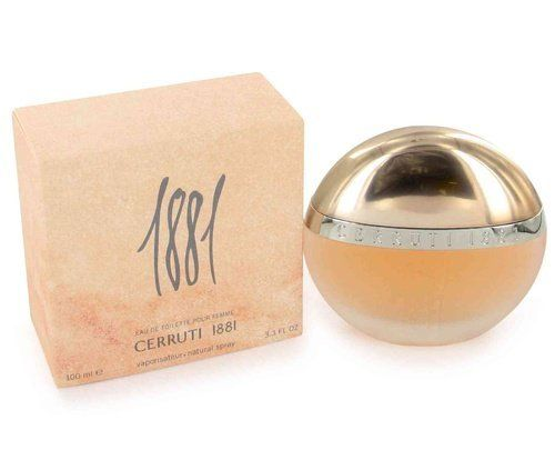 1881 by Nino Cerruti 3.3 / 3.4 oz edt Perfume Spray for Women * New In Box by Nino Cerruti. $31.08. Introduced by Nino Cerruti in 1995 CERRUTI 1881 is a sharp flowery fragrance. This Perfume has a blend of blooming fresh cut flowers and linen. It is recommended for casual wear.. Save 54%!