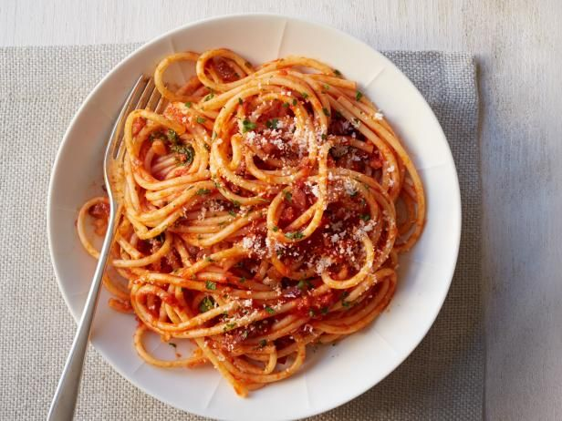 Get Amatriciana Sauce Recipe from Food Network