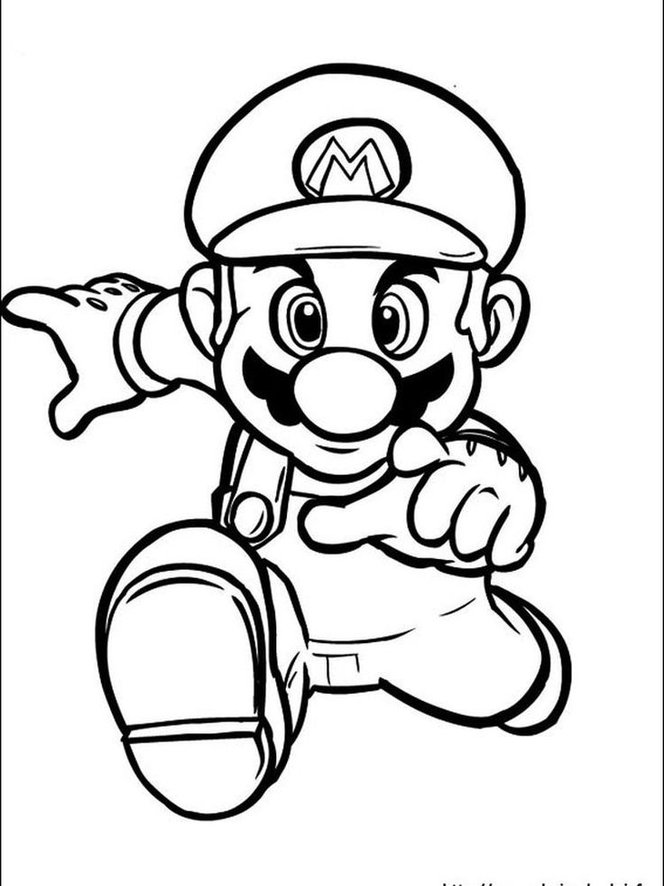mario and sonic coloring pages. The following is our Mario ...