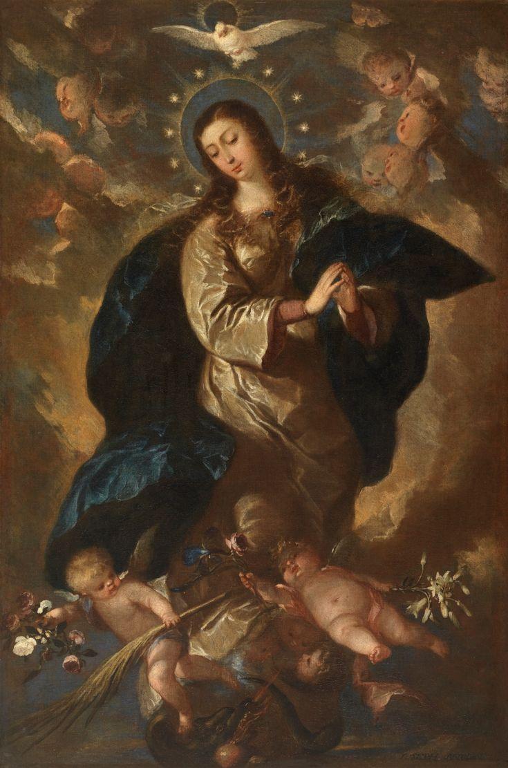 The Immaculate Conception / La Inmaculada Concepción // Ca. 1665 // José Antolínez // Virgin Mary / Virgen María