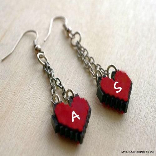 His And Her Name First Letter Love Key Chain A Pinterest