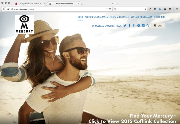 Mercury has a new WEBSITE to make finding your perfect Mercury™ accessories even easier → www.mercurysun.com