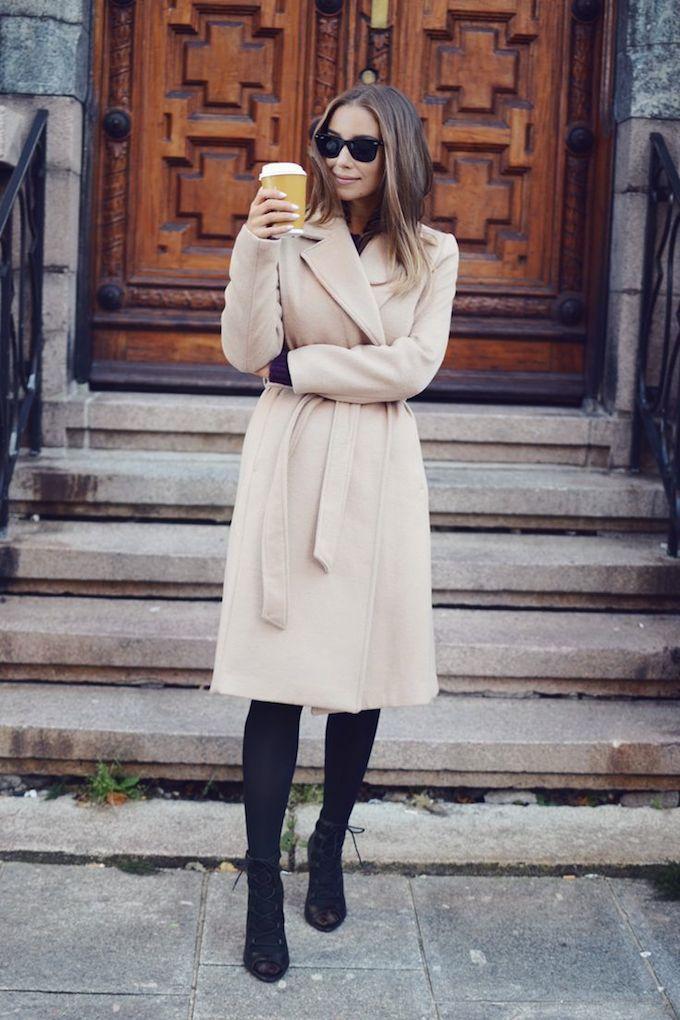 wrap coat | Emilie Tommerberg