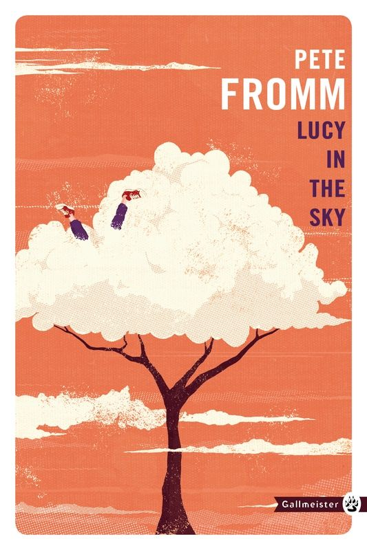 """Book cover conceptual illustration art for """"As Cool As I Am"""" (Lucy in the Sky) by Pete Fromm. Client: Gallmeister. Artist: Oli Winward. #illustration #conceptual #BookCover #novel #art #print #poster #novel #graphic"""