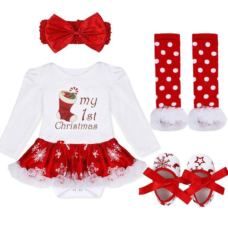 My 1st Christmas - Weihnachten mit Baby - Süßes Weihnachtskostüm