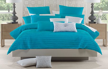 Lorraine Lea Linen Adult Bedroom Designs Taya Blue