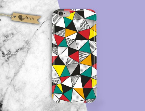 Opart and Colorful iPhone 7 Case iPhone 6 Case by KatarsisFactory