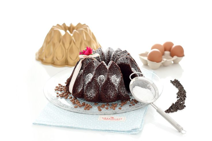 Muerte por chocolate Bundt cake con Thermomix®