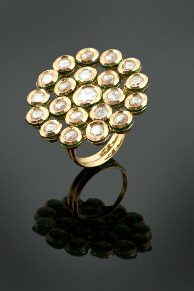 Vilandi ring in gold plating