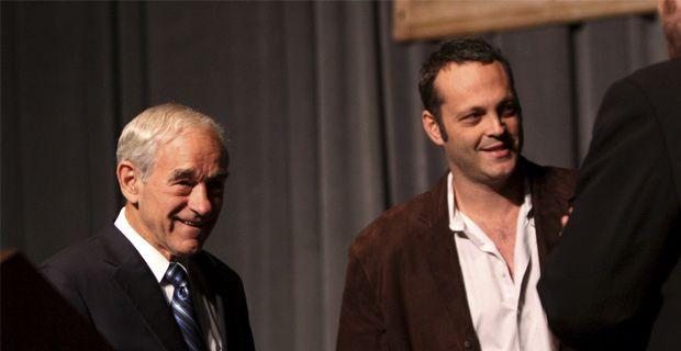 VINCE VAUGHN COMES OUT OF PRO-GUN CLOSET Will Hollywood blacklist him?