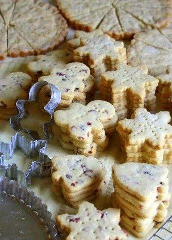 Jane's Sweets & Baking Journal: Cinnamon Cranberry Shortbread . . . Simplify the Christmas Cookie Marathon!