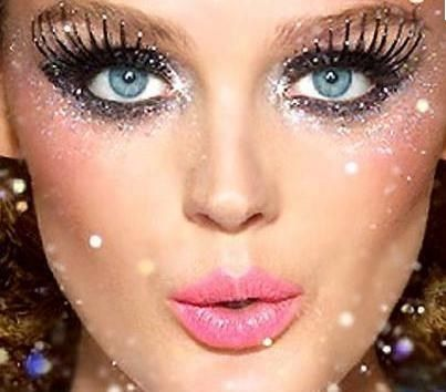Glittery New Years Eve Makeup Eye Look | lovelyish