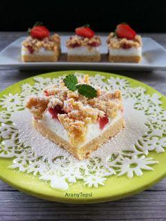 AranyTepsi: Habos epres sütemény