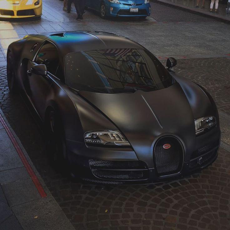 All Black Bugatti Veyron