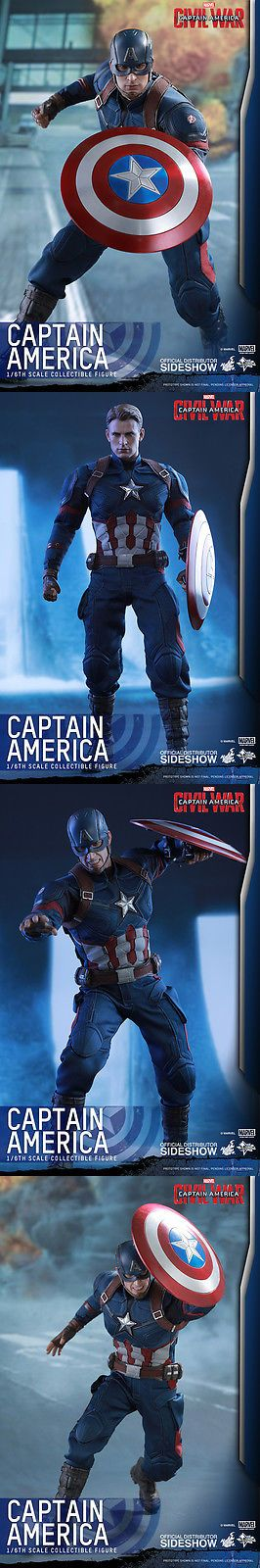 Toys And Games: Hot Toys Captain America Civil War Captain America 1/6 Scale 12 Figure In Stock -> BUY IT NOW ONLY: $259.99 on eBay!