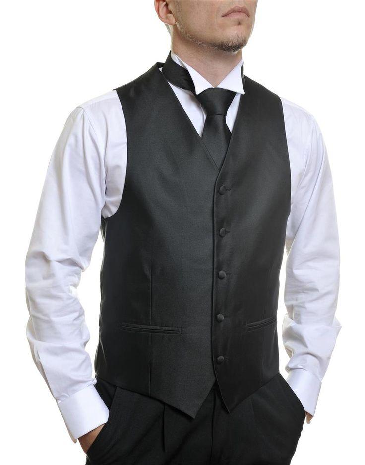 Louis Cheval Basic Black Matt #Groom #Dinner #Vest #Fashion #Clothing #Beautiful #Wedding