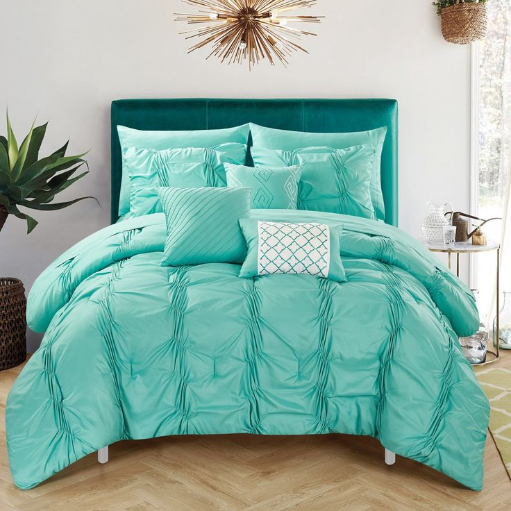 17 Best Ideas About Turquoise Bedding On Pinterest