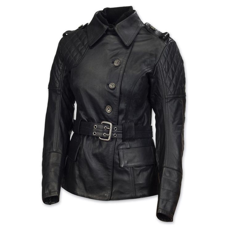 Roland Sands Design Oxford Ladies Black Leather Jacket | 104-789
