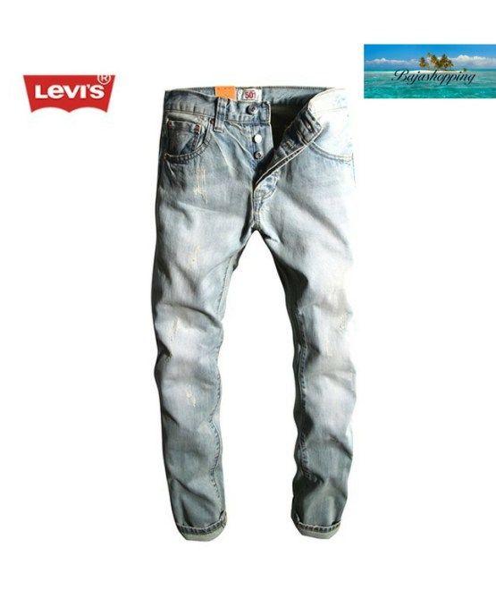 d6da6553 Men's Distressed 501 Levi's Jeans | Men's Clothing|Men's Swim Trunks ...