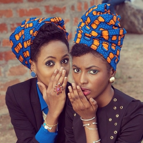 Ankara Headwraps.. In love with this style! I need these wraps
