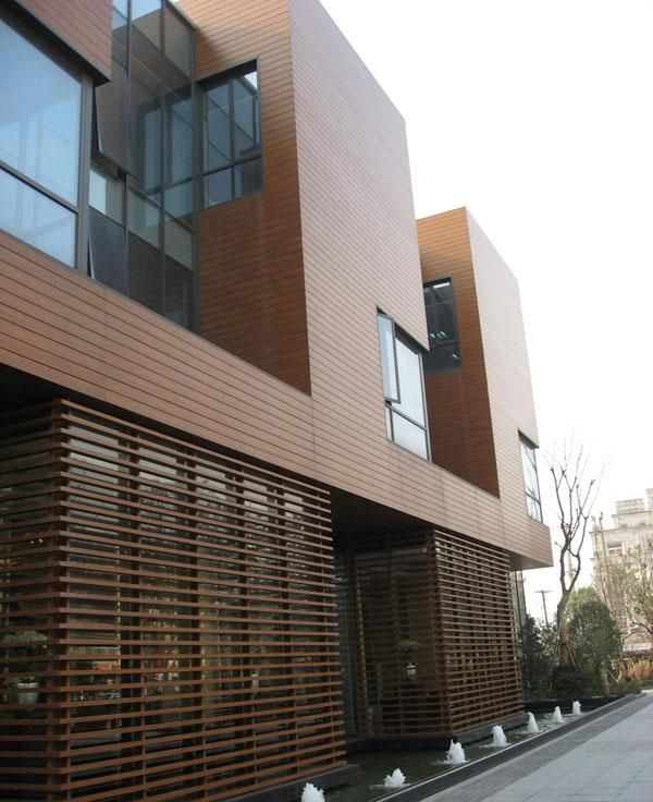 As a senior club, you can have all kinds of selling points, but beautiful outdoor #cladding sheets are essential.