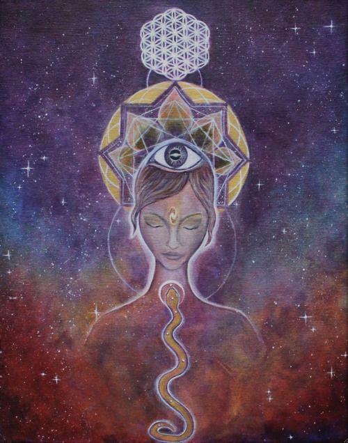 The awakening of our advanced spiritual chakras ♥