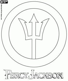 camp half blood coloring pages - photo#29