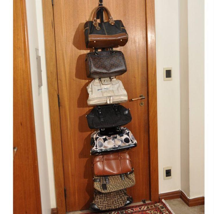 B9Brasil - Gancho para Organizar e Guardar Bolsas. Tenha suas bolsas sempre à mão!