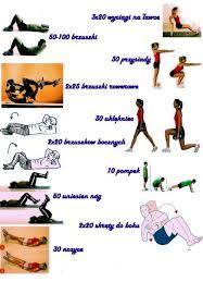 Znalezione obrazy dla zapytania cwiczenia na brzuch
