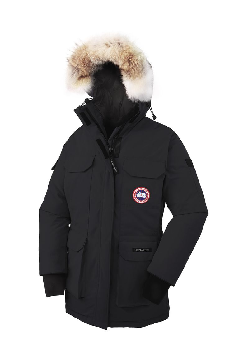 Canada Goose Womens Expedition Parka – black