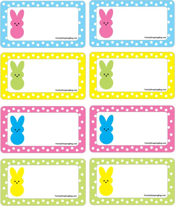 3401 best spring into easter images on pinterest angels post easter peep gift tag printable negle Choice Image