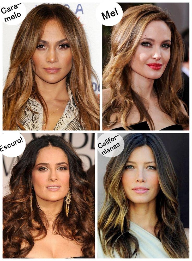 Muita gente deixou a sugestão, lá no questionário, de colocar mais inspirações de cabelos, e achei a ideia tão bacana que comecei logo. E como meu cabelo tá castanho (mas já volto pro loiro!), procurei inspirações de cabelos castanhos. E, olha, achei cada cabelo de babar! O cabelo da Jennifer Lopez tem uma cor bem …