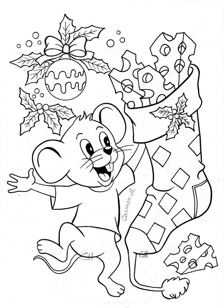 Mouse  Christmas stocking