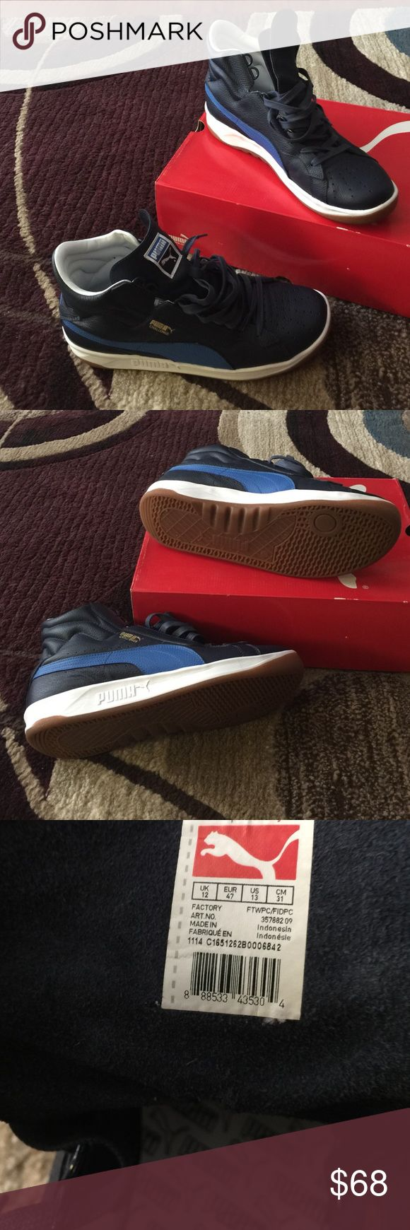 Original puma 👟 Worn only once comes with the original box 📦 and was bought at USA kick Puma Shoes Sneakers
