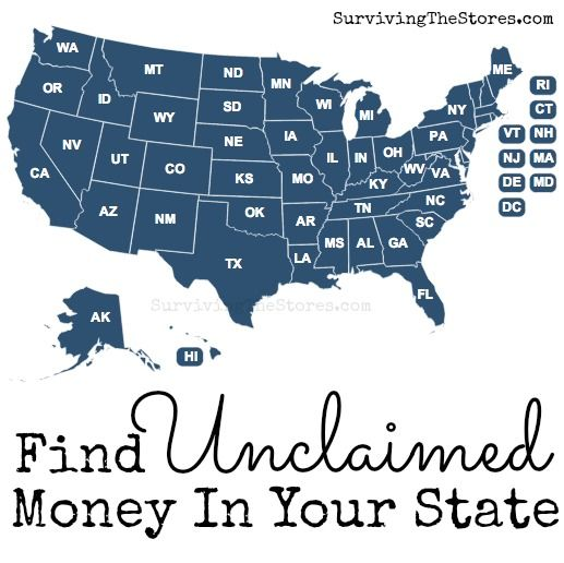 Find unclaimed money that is owed to you!!  One reader found $6,000 that was owed to her!