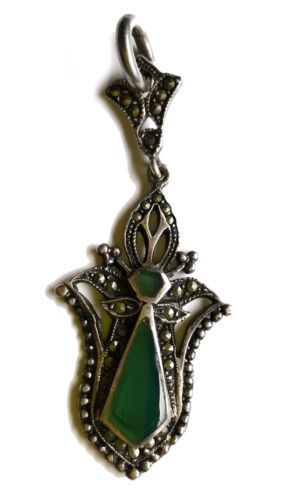 vintage-sterling-silver-pendant