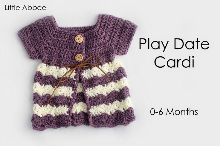 Little Abbee: TUTORIAL: Play Date Cardi •✿•  Teresa Restegui http://www.pinterest.com/teretegui/ •✿•