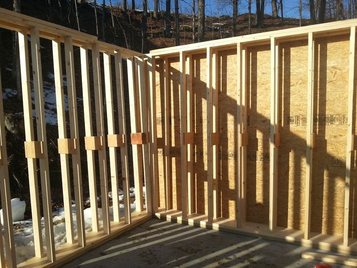 Double Stud Wall Framing Google Search Stud Walls House Exterior Exterior