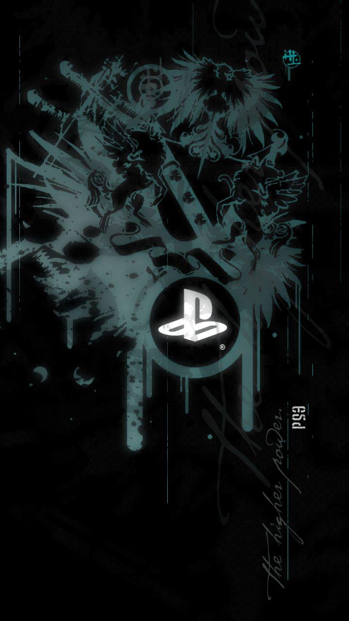Playstation Logo Wallpaper Playstation Logo Gaming Wallpapers Game Wallpaper Iphone