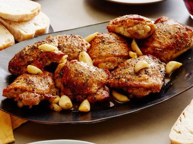 Get Melissa Darabian's Roasted Garlic Clove Chicken Recipe from Food Network